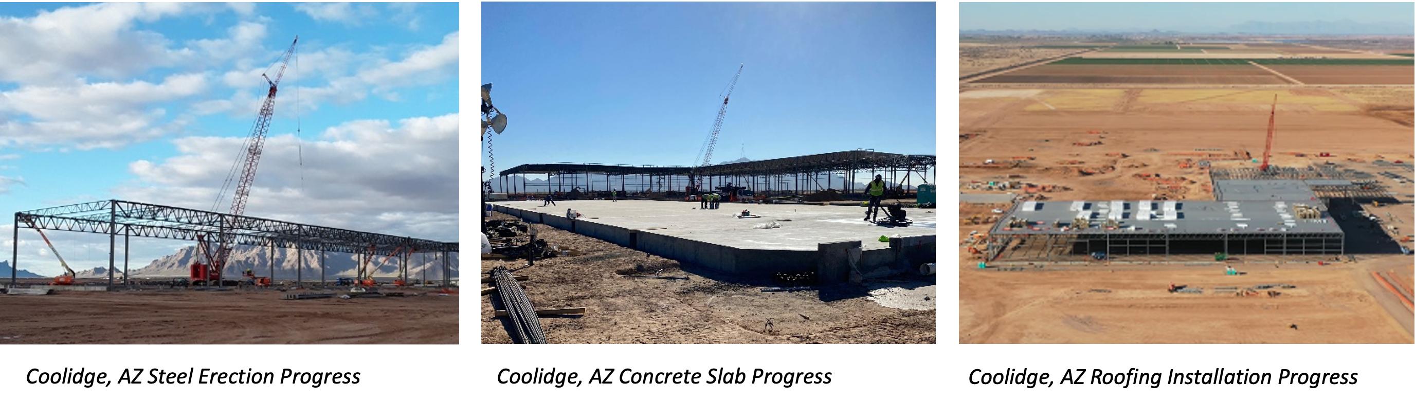 Coolidge Progress