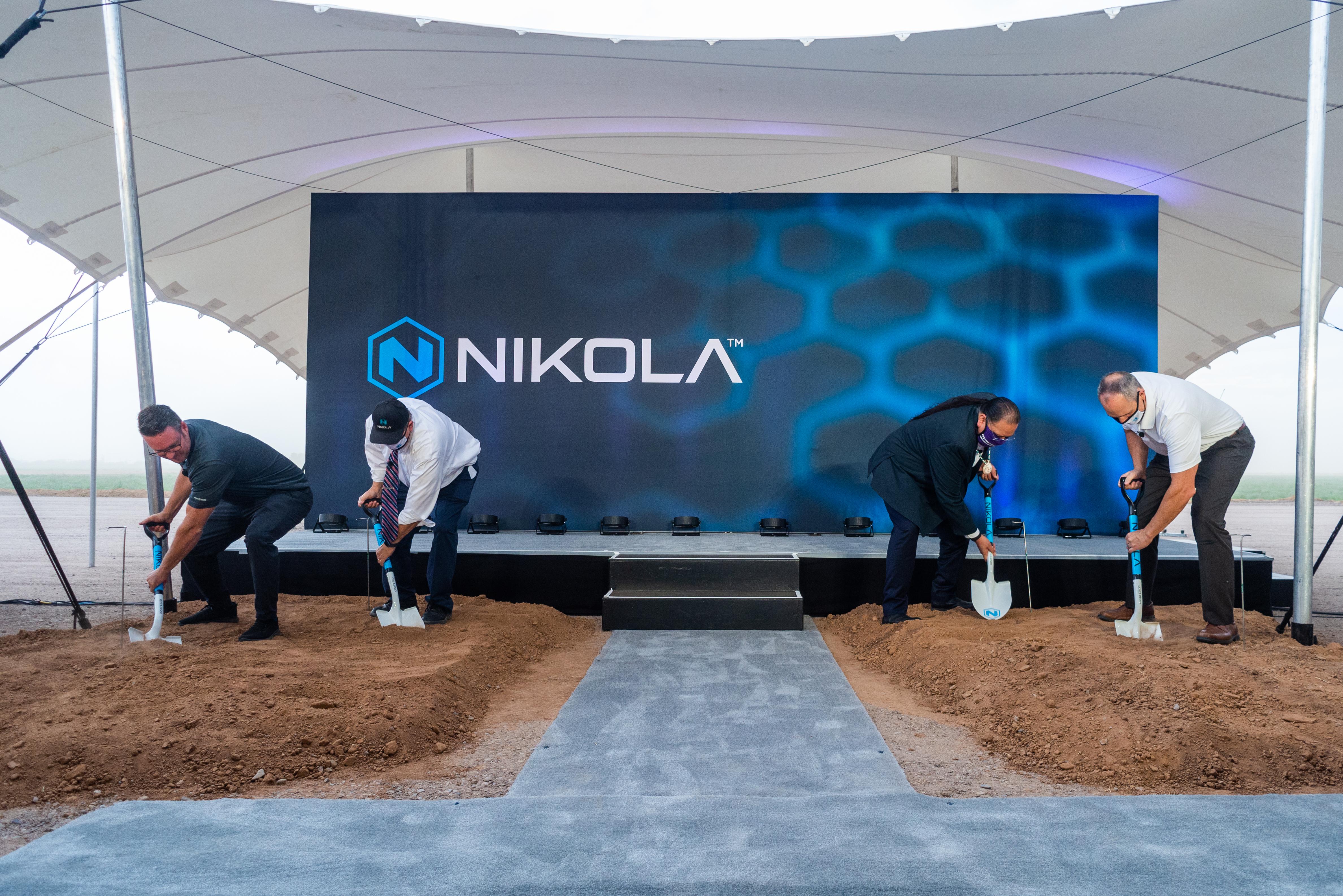 Nikola ground breaking event press release 25