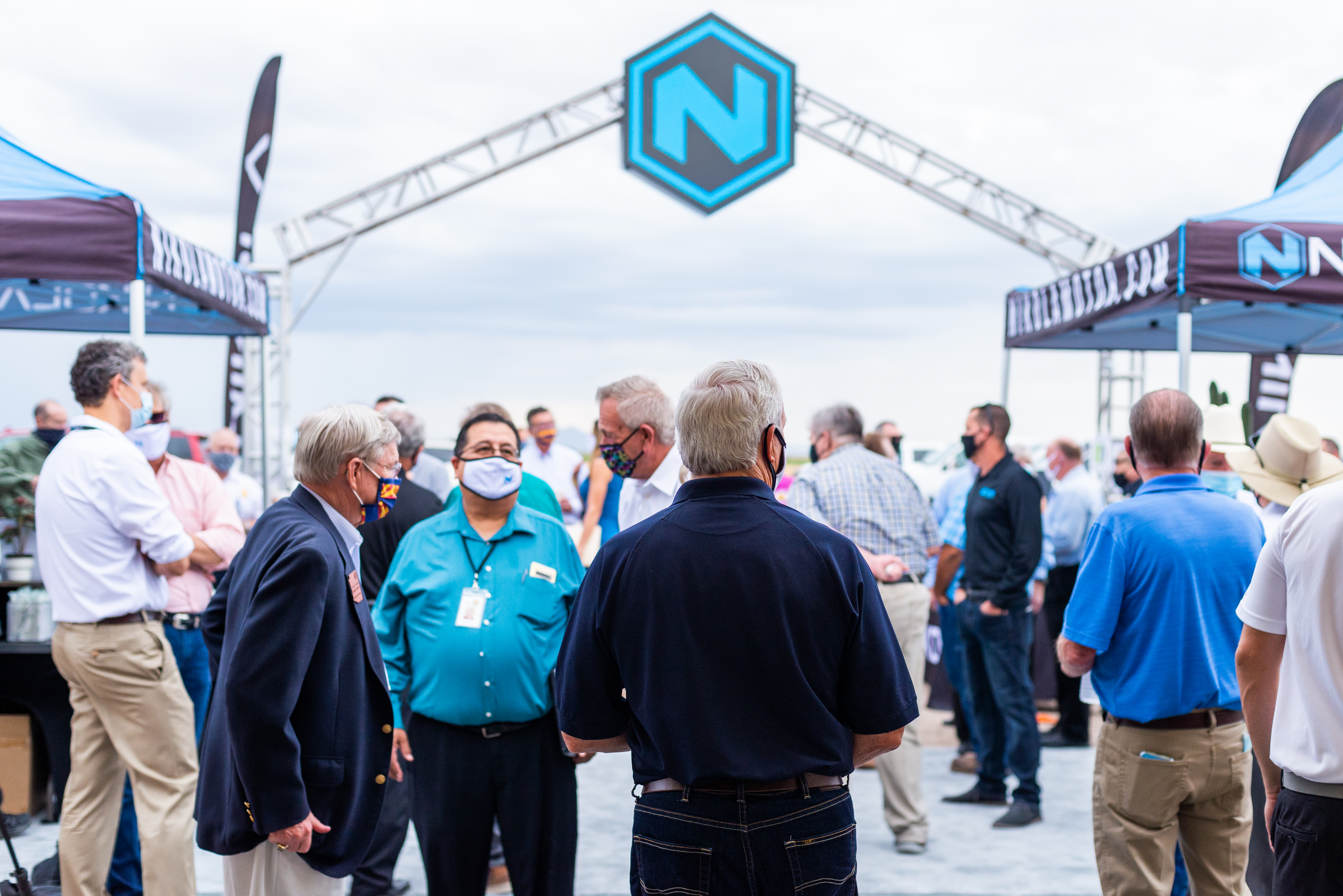 Nikola ground breaking event press release 3